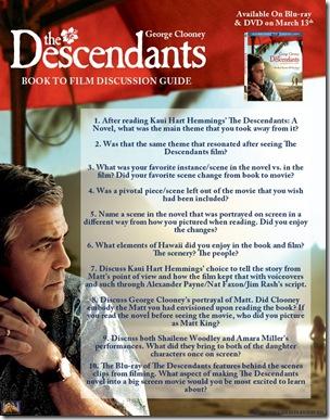 The Descendants Study Guide