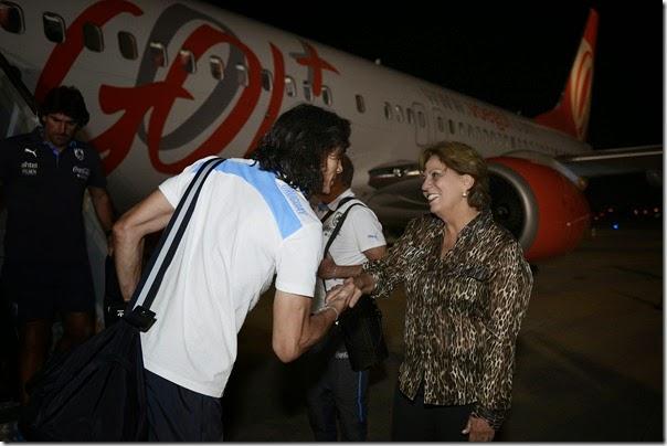 Governadora recepciona delegação do Uruguai - Elisa Elsie (3)