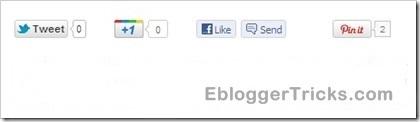 twitter google  1 like pinterest buttons align 01b