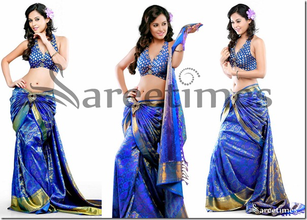 Disha_Blue_Traditional_Saree