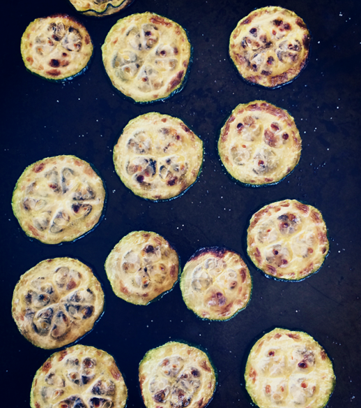 Salted Zucchini Chips