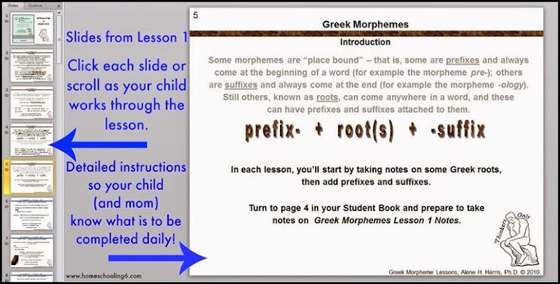 Greek Morphemes Lesson 1 Slide