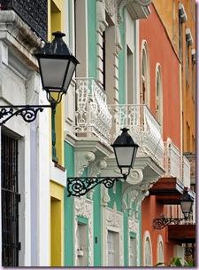 street balconies
