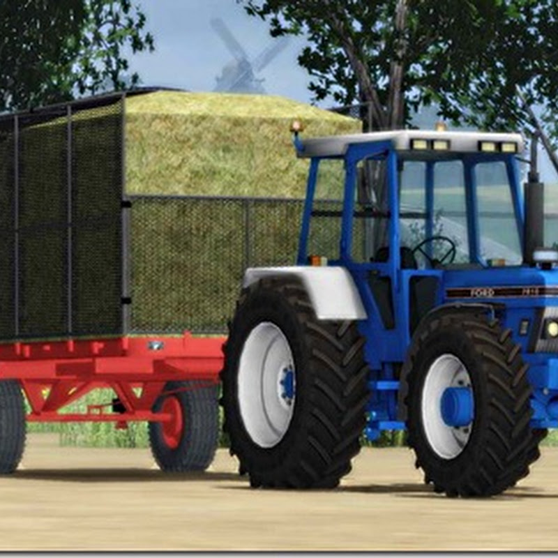 Farming simulator 2011 - ford 7810