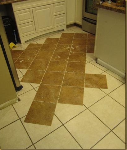How I Tiled My Floors On The CheapTrafficmaster Ceramica Tiles - Ceramica self stick vinyl tile