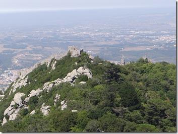 Le château (et non palais) de Sintra