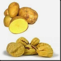 Patate e Castagne secche
