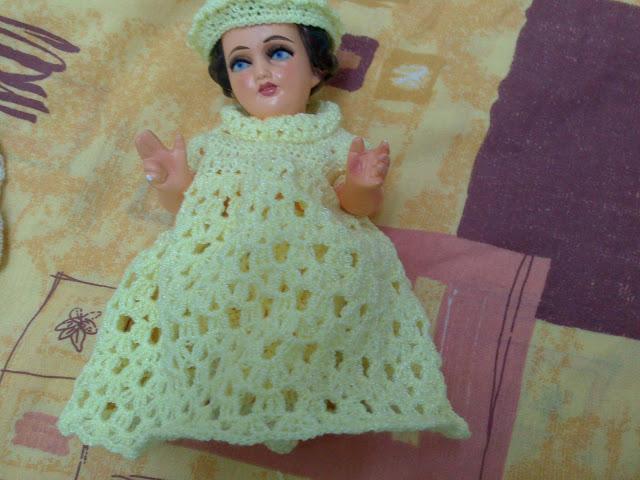 Vestido de tejido para niño dios - Imagui