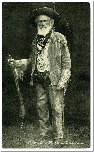 Ezra Meeker - founder of Puyallup WA