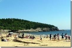 Sand Beach at Acadia NP