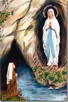 Our Lady of Lourdes - Bernadette