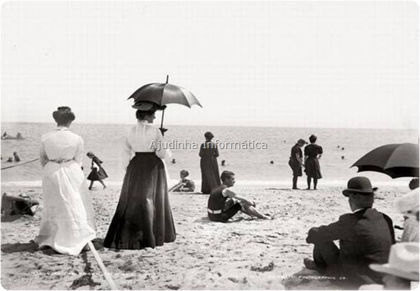 Como nossas Bisavós iam à praia no Rio de Janeiro