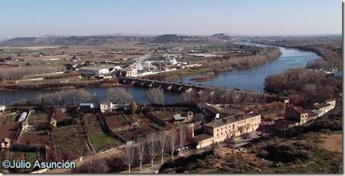 Panorámica desde el castillo de Tudela