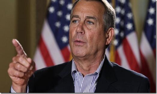 John Boehner 12-7-12