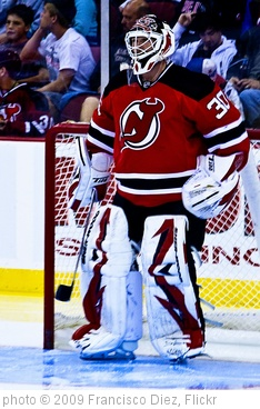 'Martin Brodeur, New Jersey Devils' photo (c) 2009, Francisco Diez - license: http://creativecommons.org/licenses/by/2.0/