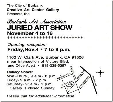 BAA Show Info