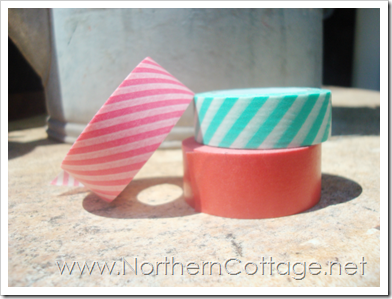 washi tape stack northern cottage