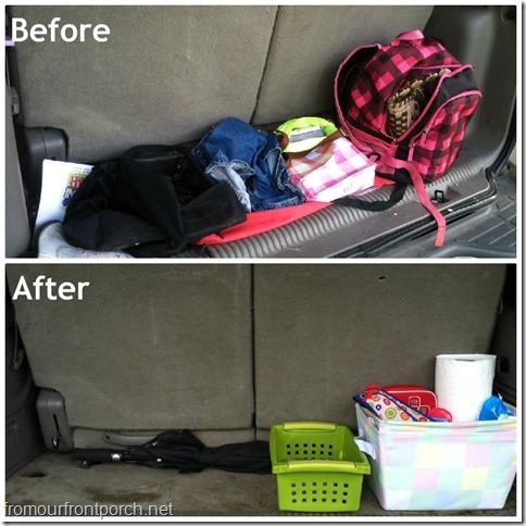 car cleanup