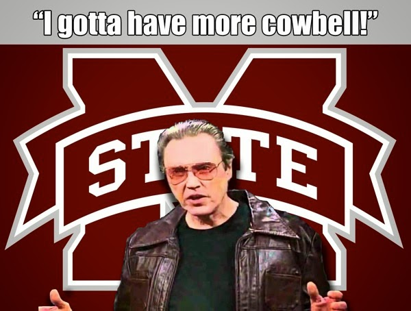 MS State Cowbell