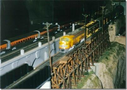 04 O-Scale Layout in Portland in Winter 2001