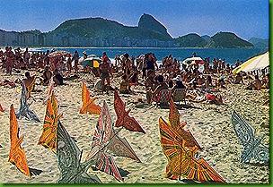 Pipas Praia de Copacabana - Anos 60