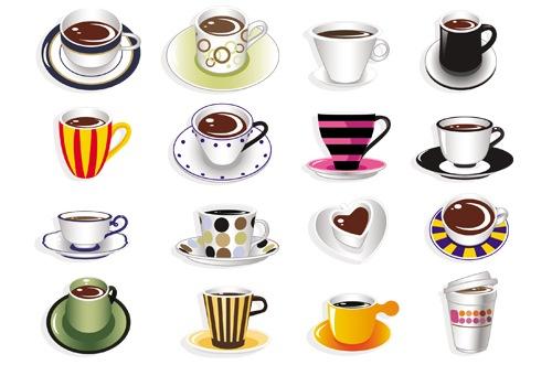 xícara de cafe em vetor