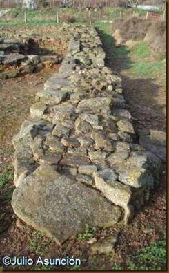 Ciudad romana de Cara - Muralla