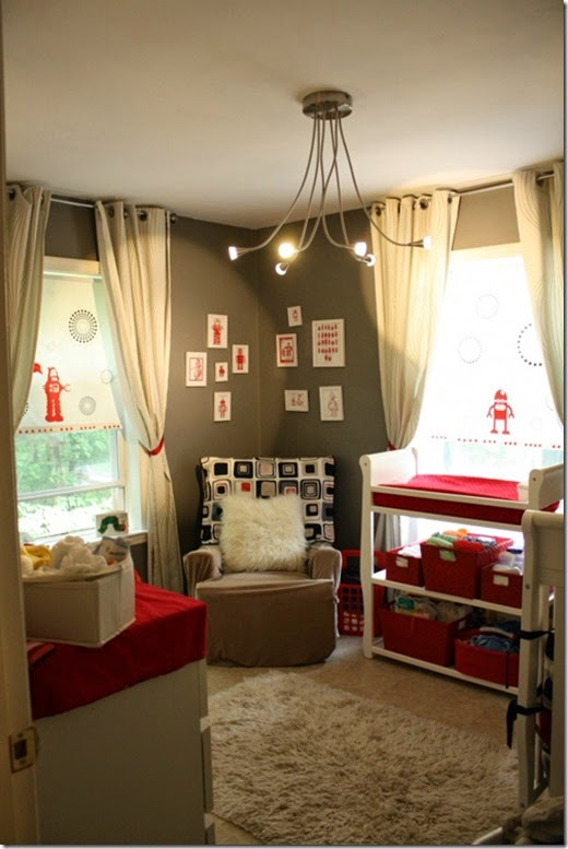 red-grey-robot-nursery-room