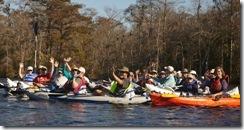 Carolina Clan enjoying the day on the water