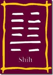 I Ching 7 Shih O exercito