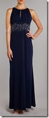 JS Collections Jewel Waist Maxi Dress