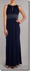 JS Collections Jewel Waist Maxi Dress