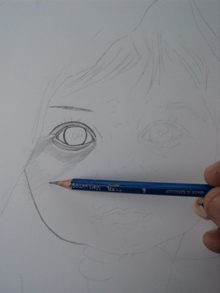 desenho de crianças a lápis 1