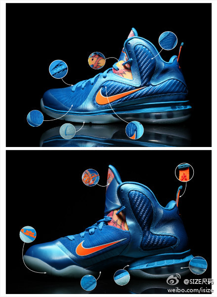 LEBRON 9 8220China8221 Release Date Pricing and Orange Laces
