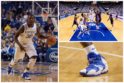 wearing brons kentucky lebron11 white blue 00 Wearing Brons: Kentucky Wildcats Nike LeBron 11 PEs