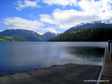 Wallowa Lake near Joseph, OR