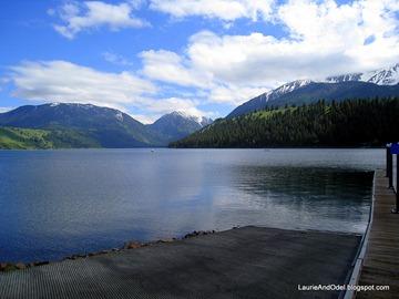 Wallowa Lake near Joseph, OR