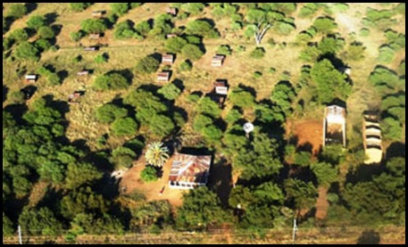 kameeldrift AERIAL PHOTO OF ILLEGAL BLACK LAND OCCUPATIONS AFRIKANER SMALLHOLDINGS MAY 2012