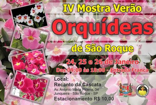 IV Mostra de Orquídeas de São Roque