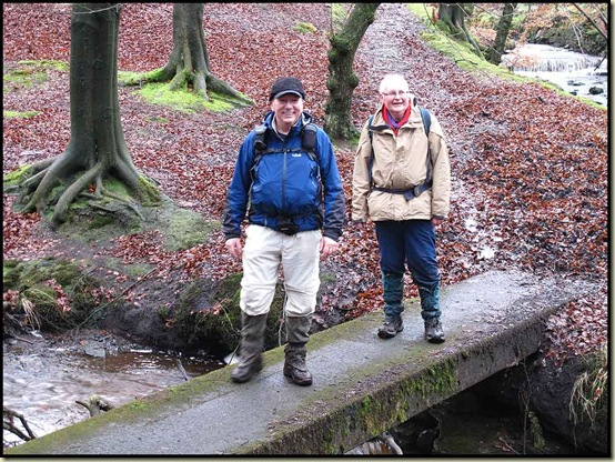 Allan and Reg in Roddlesworth Woods
