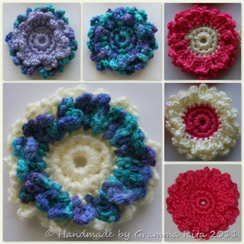 Loopy Flowers Collage 1