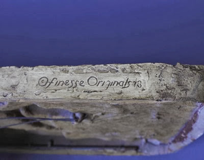 Finesse Originals dancers wall sculpture signature