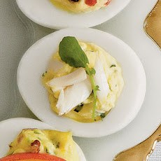 High Society Deviled Eggs