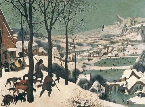 Bruegel_hunters