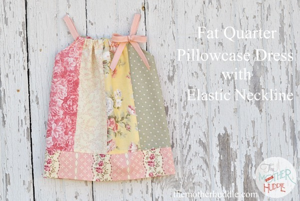 fat quarter pillowcase dress