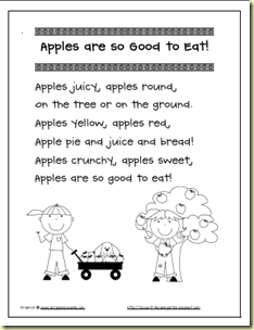 apples are so good to eat bw