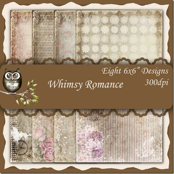 Whimsy Romance Front Sheet