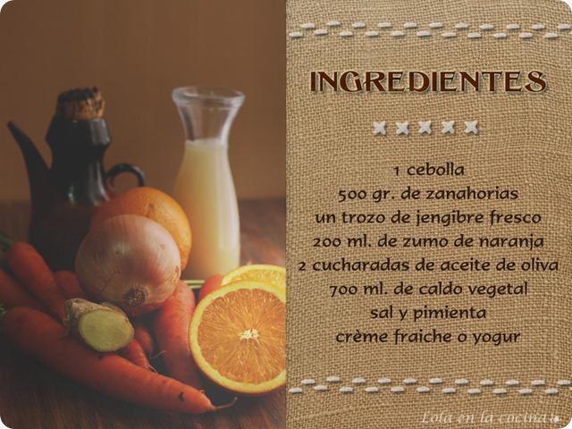 crema-zanahoria-naranja-ingredientes