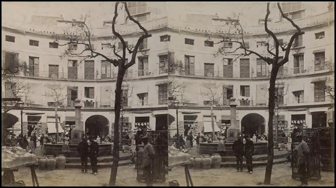 LA PLAZA REDONDA CA 1900