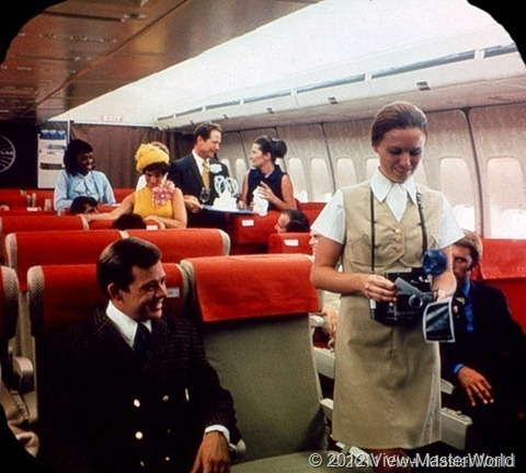 View-Master Pan Ams 747 (B747), Scene 2_5: Spacious Interior